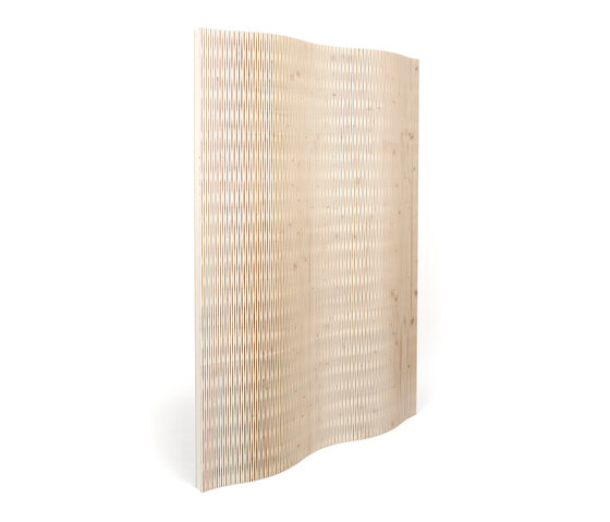 Acoustic Panel W2 3-layer spruce by dukta | Wood panels