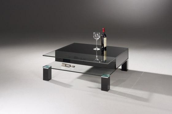 Theben 99/2 OW - jet black de Dreieck Design | Mesas de centro