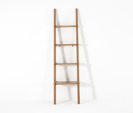 Simply City LADDER SHELVES by Karpenter | Towel rails