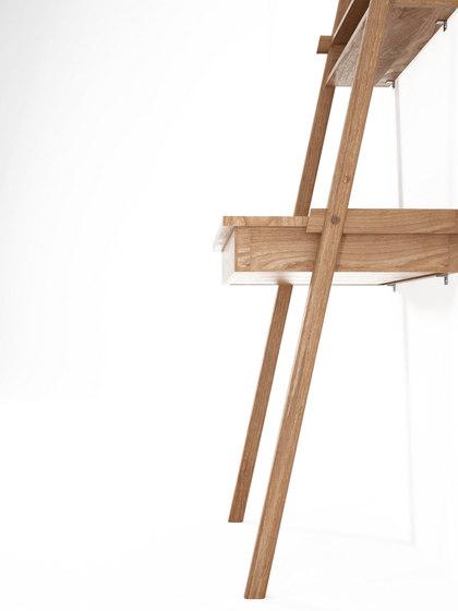 Simply City LADDER with DRAWER DESK & NICHE di Karpenter | Mensole bagno