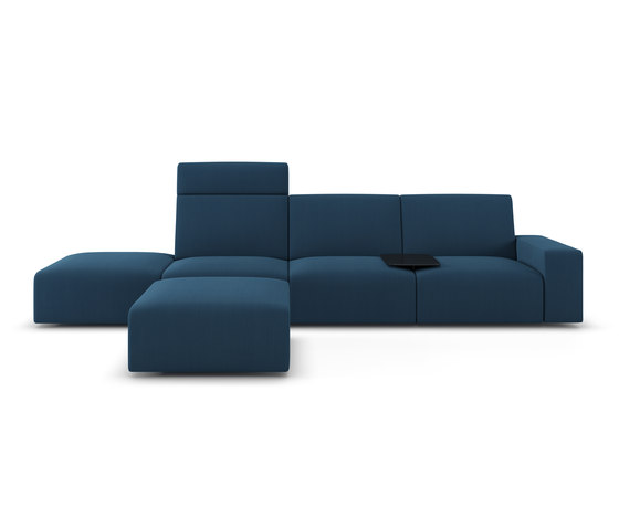 Sistema by viccarbe | Lounge sofas