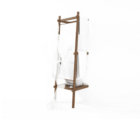 Simply City STANDING MIRROR & SHELF di Karpenter | Specchi