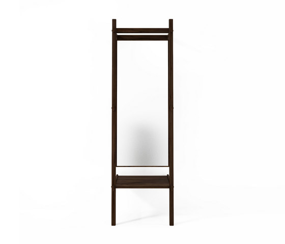 Simply City STANDING MIRROR & SHELF by Karpenter | Mirrors