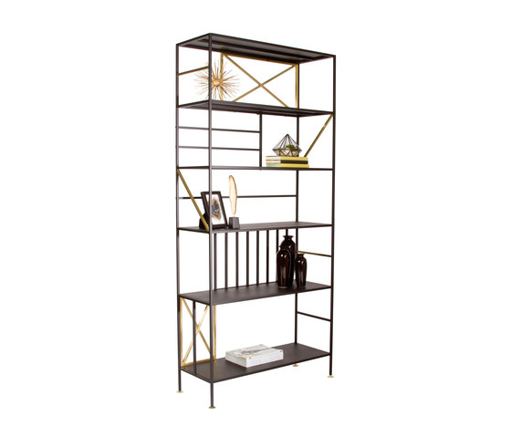 New Prairie Vertical Bookcase by Sauder Boutique | Shelving