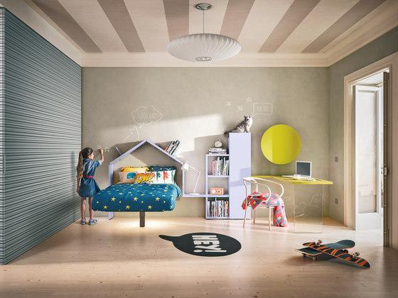 Fluttua_bed_kids de LAGO | Lits enfant