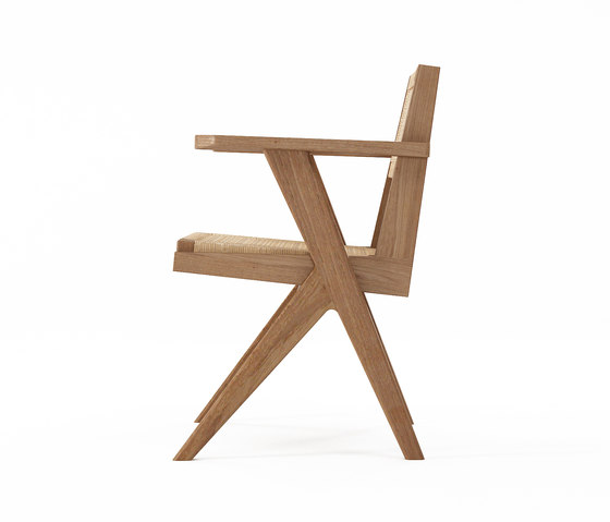 Tribute ARMCHAIR with WOVEN DANISH PAPER CORD by Karpenter | Chairs