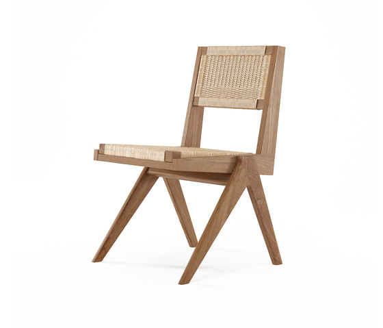 Tribute CHAIR with WOVEN DANISH PAPER CORD by Karpenter | Chairs