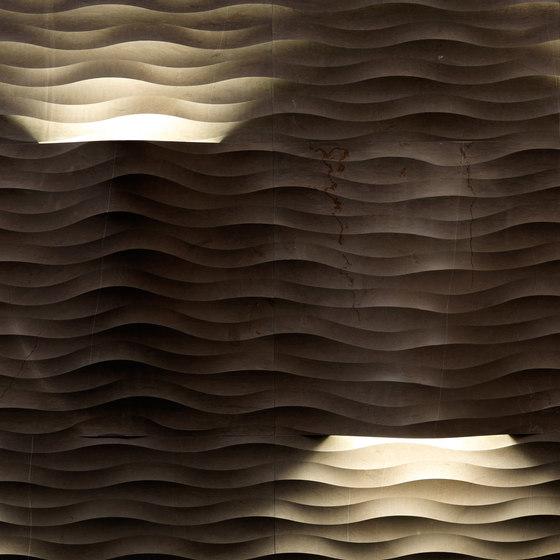 Le Pietre Incise | Fondo coni luce von Lithos Design | Naturstein Platten