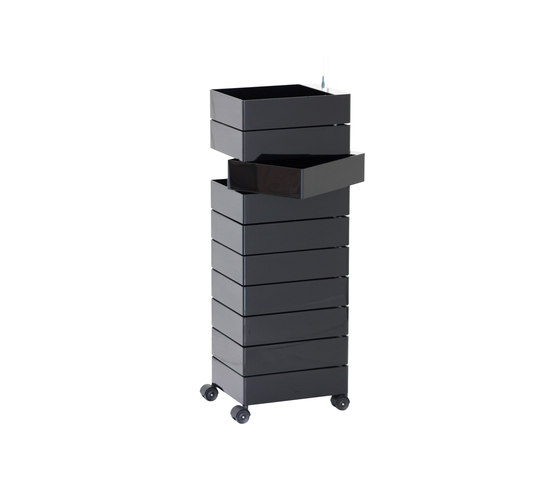 360 container pedestals from magis architonic for Magis 360 container
