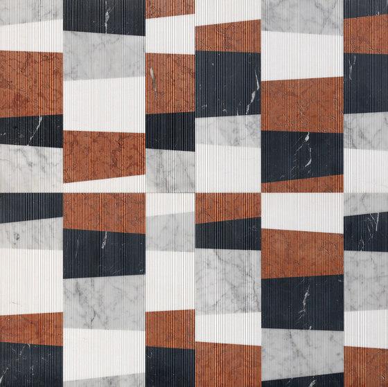 Opus | Piano memphis di Lithos Design | Lastre pietra naturale
