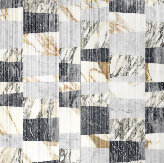 Opus   Piano patchwork di Lithos Design   Lastre pietra naturale