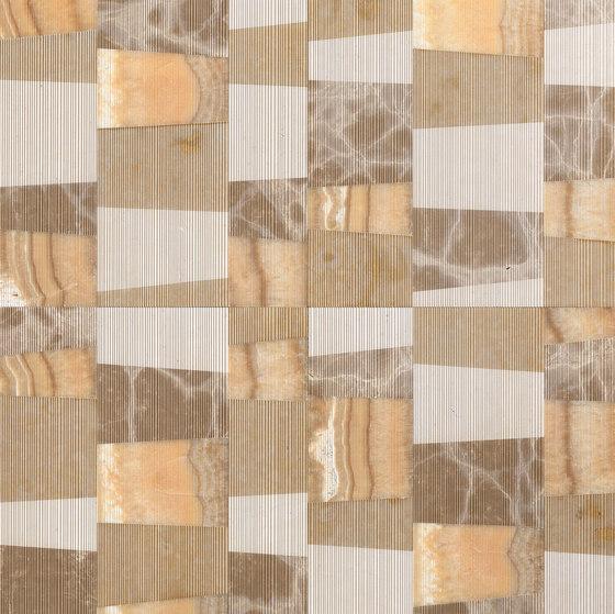 Opus | Piano zafferano di Lithos Design | Lastre pietra naturale
