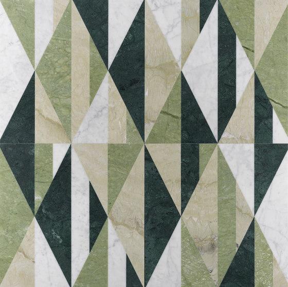 Opus | Tangram aloe by Lithos Design | Natural stone panels