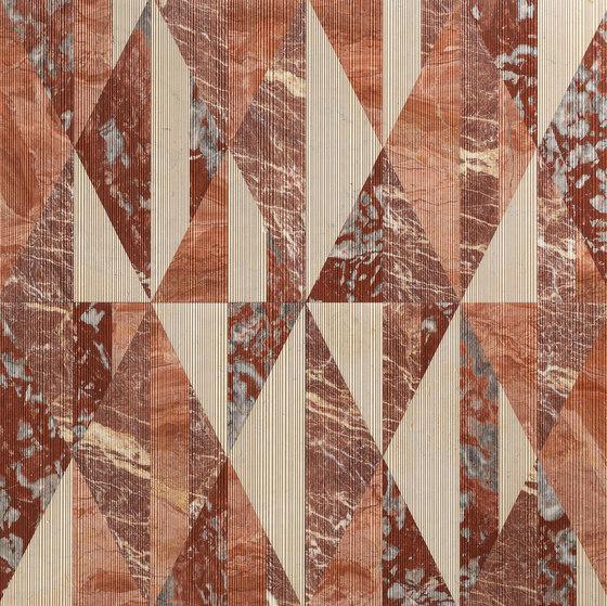Opus | Tangram ginger di Lithos Design | Lastre pietra naturale
