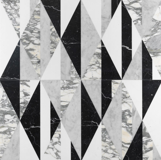 Opus | Tangram chaplin di Lithos Design | Lastre pietra naturale