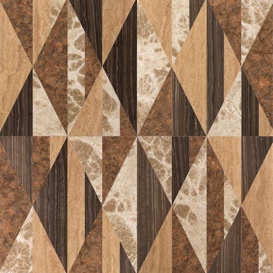 Opus | Tangram sandalo by Lithos Design | Natural stone panels