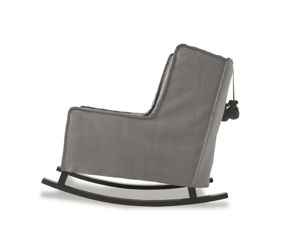 HOUSSE ROCKING Chair by Baxter | Armchairs