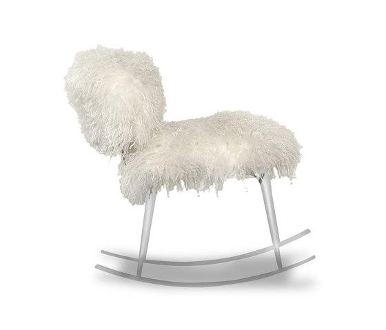 NEPAL Rocking armchair von Baxter   Sessel