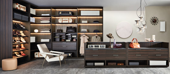 Gliss_Walk-In closet Master by Molteni & C | Walk-in wardrobes