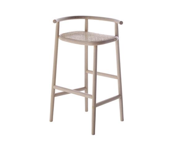 Single Curve Barstool de WIENER GTV DESIGN | Taburetes de bar