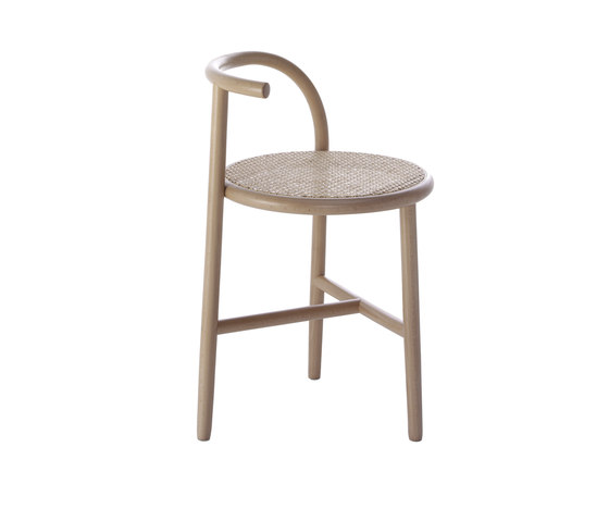 Single Curve Stool de WIENER GTV DESIGN | Sillas