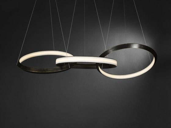 Oracle 3 ring von Christopher Boots | Pendelleuchten