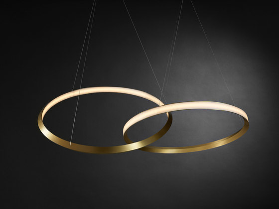 Oracle twin by Christopher Boots | Suspended lights