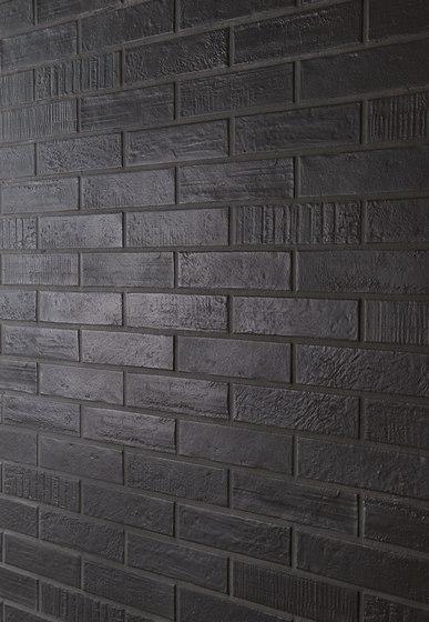 Brick Design Carbone by EMILGROUP   Ceramic tiles