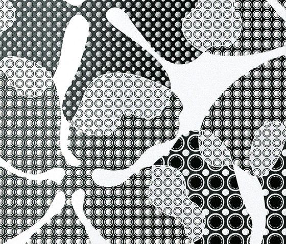 Ava - Eden - Dahlia Deluxe Bianco Lucido de La Fabbrica | Carrelage céramique