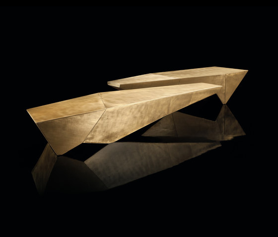 Monolith Table by HENGE | Coffee tables
