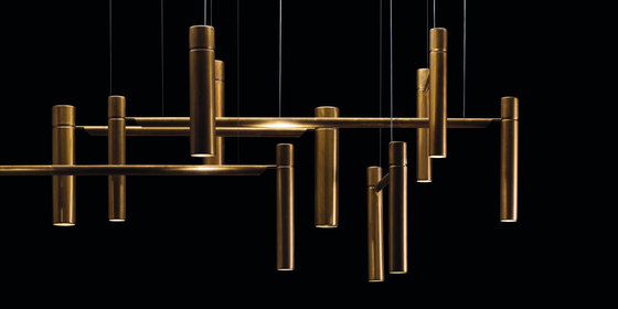 Tubular Horizontal. Ceiling de HENGE | Suspensions