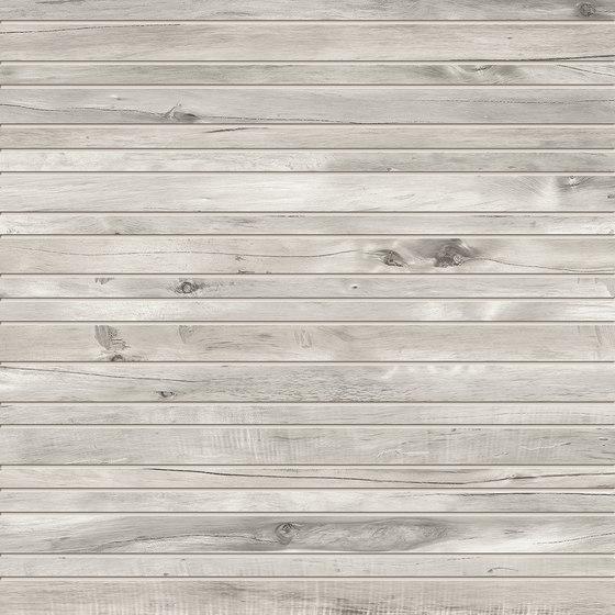 Millelegni Listelli Grey Ash de EMILGROUP | Carrelage céramique