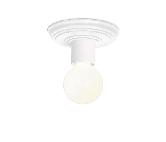 Paula pa 2 powder-coated matt white di Mawa Design | Lampade plafoniere