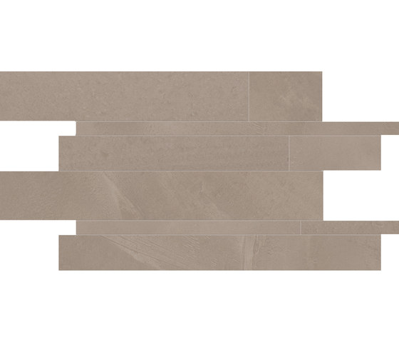 Architect Resin Mosaico Listelli Hong Kong Taupe by EMILGROUP | Ceramic tiles