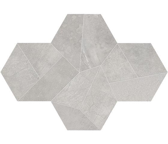 Architect Resin Design Berlin Grey by EMILGROUP | Ceramic mosaics
