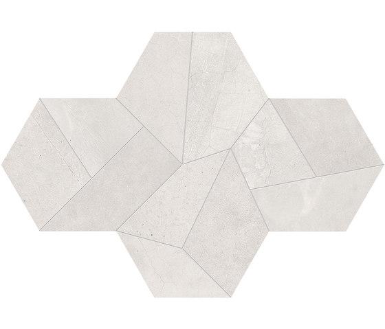 Architect Resin Design Tokyo White de EMILGROUP | Mosaïques céramique
