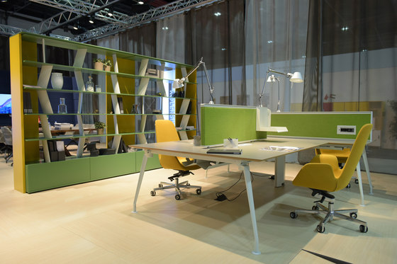 Borges Operational Desk System by Koleksiyon Furniture | Desking systems