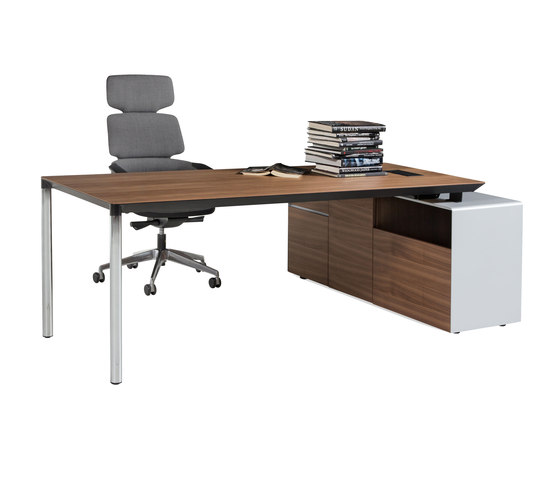 Calvino Operational Desk System de Koleksiyon Furniture | Bureaux
