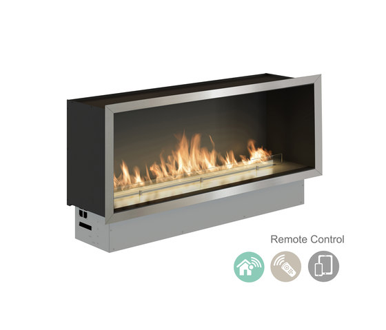 Fire Line Automatic 3 in casing A by Planika | Fireplace inserts
