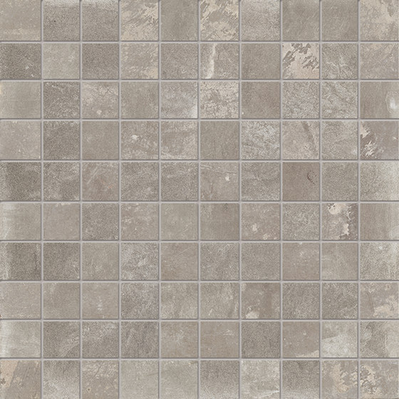Dust Mosaico Grey by EMILGROUP | Ceramic mosaics