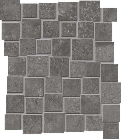 Groove Mystique Black Mosaico Penta by EMILGROUP | Ceramic mosaics