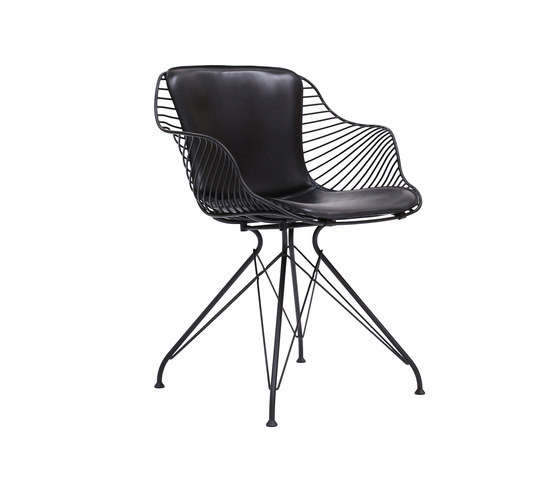 Wire Dining Chair de Overgaard & Dyrman | Chaises de restaurant