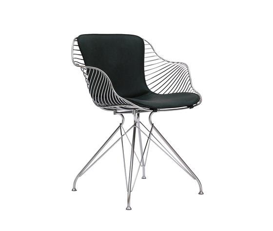 Wire Dining Chair von Overgaard & Dyrman   Restaurantstühle
