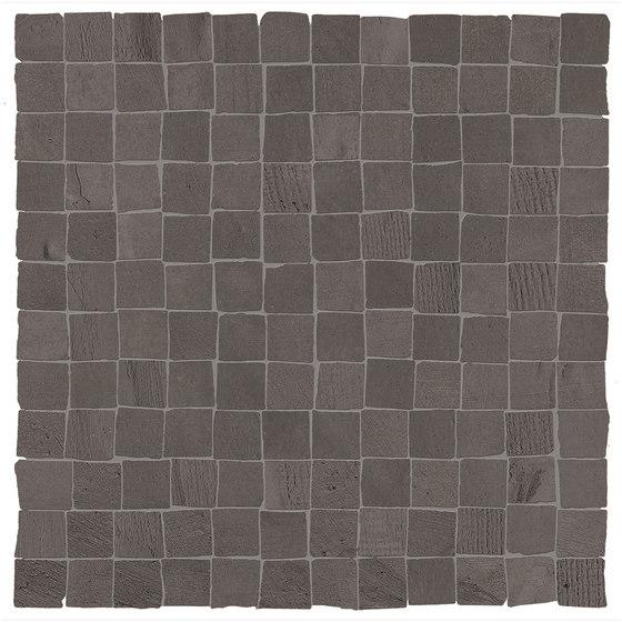 99 Volte Mosaico Nero Opaco di EMILGROUP   Mosaici ceramica