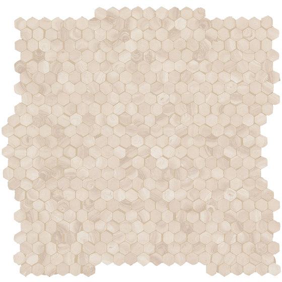 99 Volte Mosaico Mano Beige de EMILGROUP | Mosaicos de cerámica