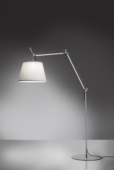 Tolomeo Outdoor Paralume Floor by Artemide Architectural | Outdoor free-standing lights