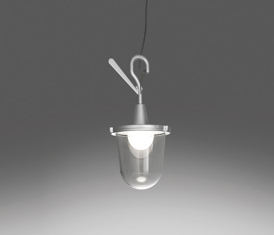 Tolomeo Outdoor Lampione Hook by Artemide Architectural | Outdoor pendant lights
