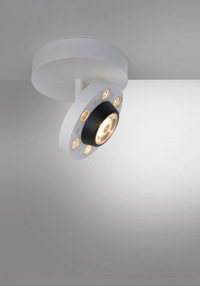 LoT Projector Ceiling semi-recessed by Artemide Architectural | Ceiling lights