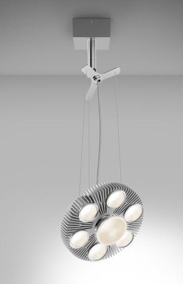 LoT Reflector Adjustable Pendant by Artemide Architectural   Suspended lights