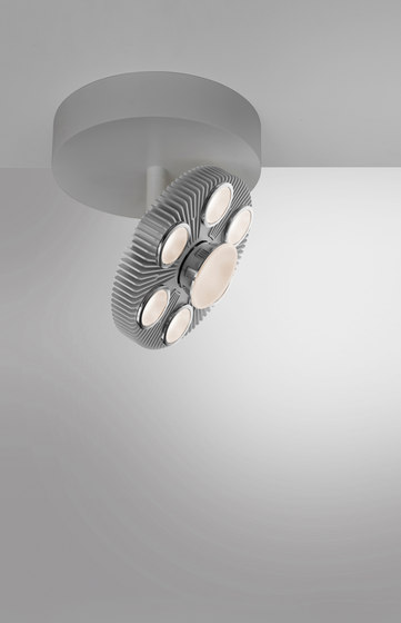 LoT Reflector Ceiling semi-recessed by Artemide Architectural | Ceiling lights